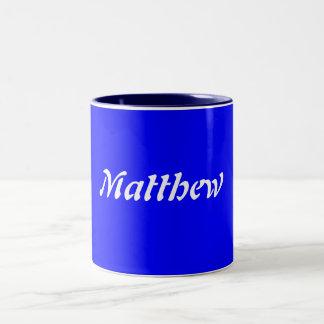 Matthew Två-Tonad Mugg