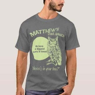 Matthews ugglaranch tee shirt
