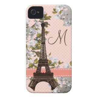 Mattt Monogrammed fodral för Eiffel torniPhone 4 k casemate fodral