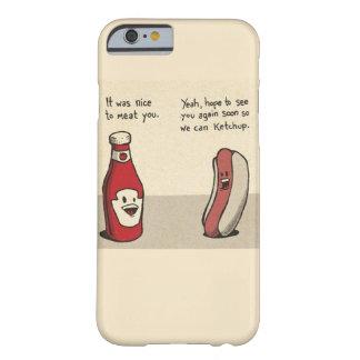 Matvits - Hotdog/Ketchup Barely There iPhone 6 Fodral