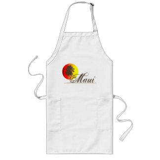 Maui Hawaii souvenir Långt Förkläde