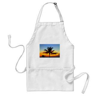 Maui palmträd Sunset1.jpg Förkläde