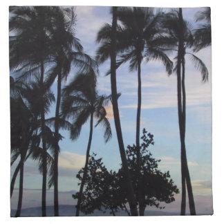 Maui solnedgång tygservett