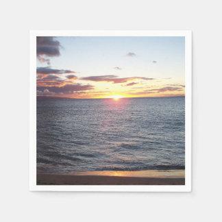Maui solnedgångservetter pappersservett