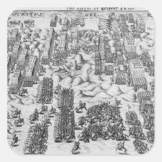 Maurice besegrar österrikare på striden av fyrkantigt klistermärke