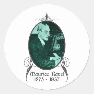 Maurice Ravel Runt Klistermärke