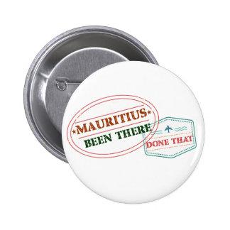 Mauritius där gjort det standard knapp rund 5.7 cm