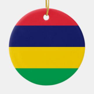 Mauritius Julgransprydnad Keramik