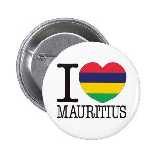 Mauritius kärlek v2 standard knapp rund 5.7 cm