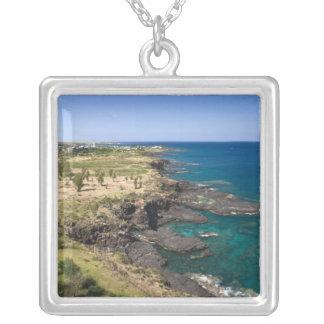 Mauritius westerna Mauritius, Belle Vue, hav Silverpläterat Halsband