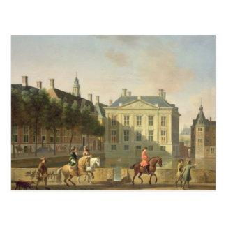 Mauritshuisen från Langevijverburgen Vykort