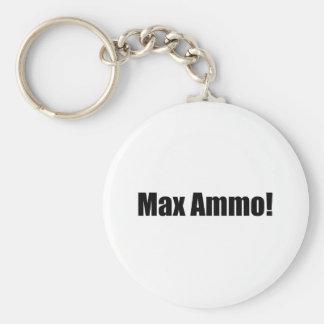 Max Ammo! Rund Nyckelring