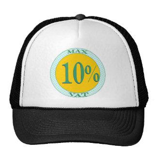 Max mervärdeskatt tio procent keps