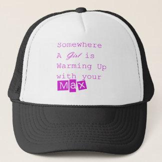 Max truckerkeps för flicka