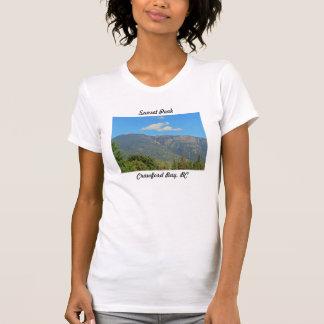 Maximal solnedgång, Crawford fjärdkvinna Tshirt Tshirts