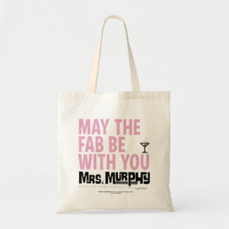 May the FAB be with you - bag Budget Tygkasse