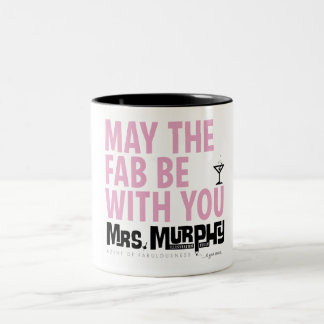 May the FAB be with you - coffemug Två-Tonad Mugg