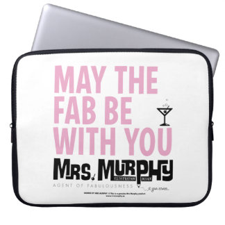 May the FAB be with you - laptop case Laptop Fodral