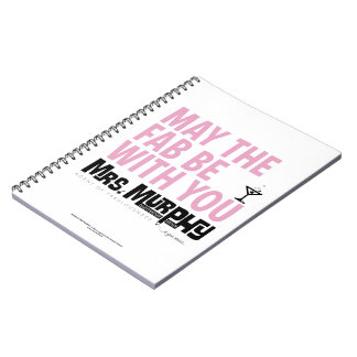 May the FAB be with you - notebook Spiralbundna Anteckningsböcker