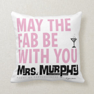 May the FAB be with you - pillow Prydnadskuddar