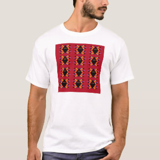 Maya/Aztec handdrawn Folk sommarvintagepatter Tröjor