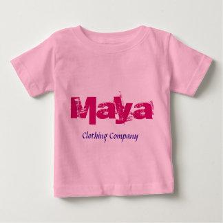 Maya Namnge Bekläda Företag babyskjortor T Shirts