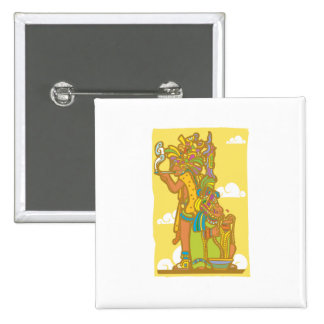 Mayan affisch 4 nål