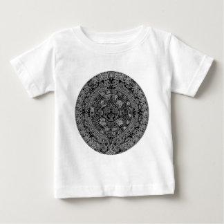 Mayan Aztec kalender (svart) 12.21.2012 T Shirts