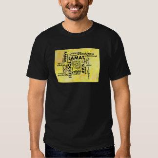 Mayan Aztec mörk för ordmolnLamat Tochtli T-tröja T Shirt