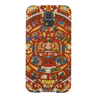 Mayan Aztec Prophetic symbol för Maya Galaxy S5 Fodral