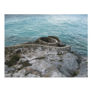 Mayan fördärvar, Isla Mujeres, Mexico Vykort