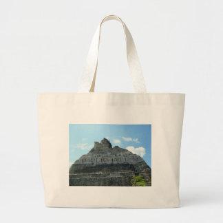 Mayan fördärvar - xunantunich belize jumbo tygkasse