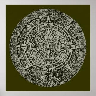 mayan kalender affischer