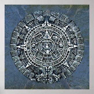 Mayan kalender/Maya Kalender Affischer