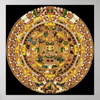 mayan kalender poster