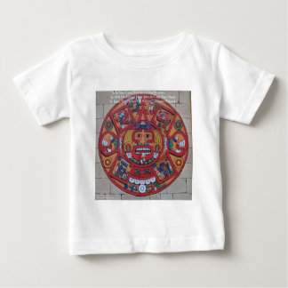 Mayan kalender- & Proverbgåvakort & utslagsplatser T-shirt