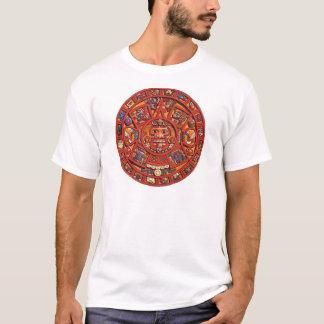Mayan kalender t-shirt