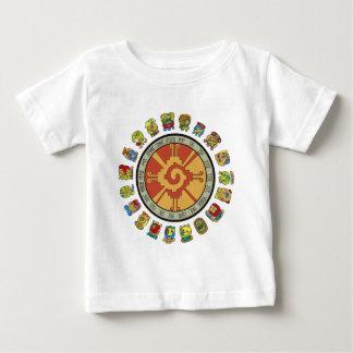 Mayan kalenderdesign t shirt