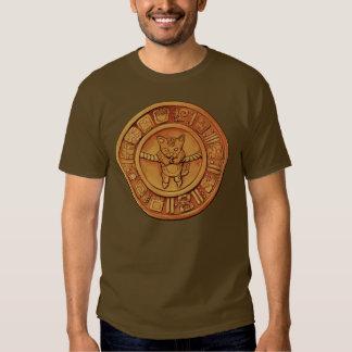 Mayan kattkalender tee shirts