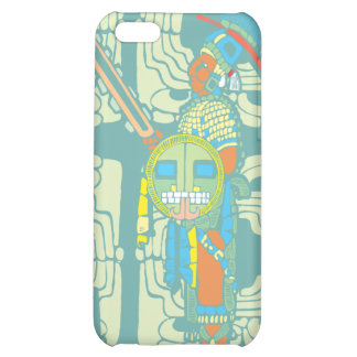 Mayan krigare iPhone 5C mobil fodral