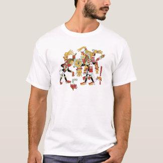 Mayan kulturdesign t shirt