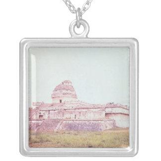 Mayan observatorium, c.1050 silverpläterat halsband