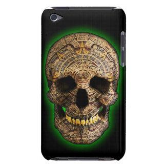 Mayan skalle vid det Hellmet designområdet Barely There iPod Hud