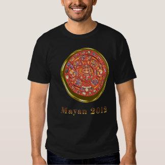 Mayan T-tröja 2012 Tee Shirts