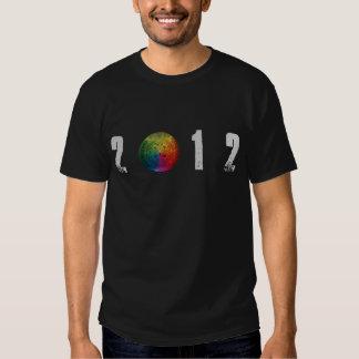 Mayan T-tröja för kalender 2012 T-shirt