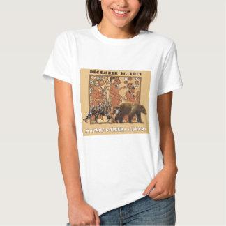 Mayans & tigrar & björnar tee shirt