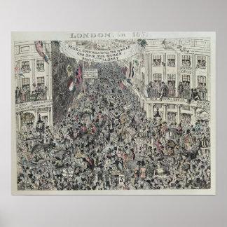 Mayhews underbara Exhibiton, London, 1851 Poster