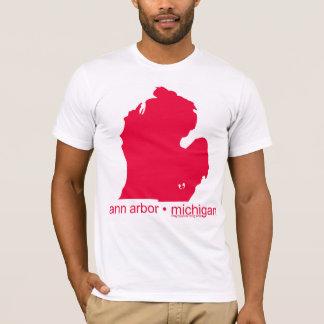 Mayniax som brännmärker den vitAnn Arbor T-tröja! T-shirt