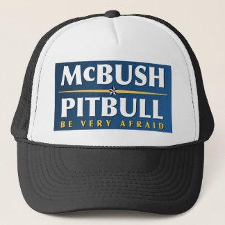 McBush & Pitbull hatt Truckerkeps