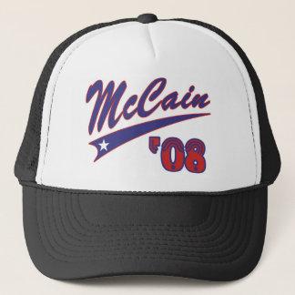 McCain 08 Swoosh Truckerkeps